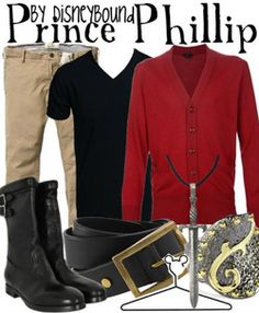 Prince Phillip by DisneyBound. I would were this anytime.