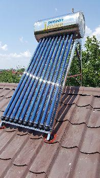 Panou solar apa calda INOX nepresurizat 100 litri - cu vas flotor Passive House, Solar Panels, Sustainability, Grid, Outdoor Decor, Solar Panel Lights, Sun Panels, Sustainable Development