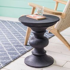 Bailey Round Side Table - View All - Shop By Category - New For Spring