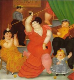 fernando botero Flamenco print for sale. Shop for fernando botero Flamenco painting and frame at discount price, ships in 24 hours. Diego Rivera, Frida Diego, Plus Size Art, Norman Rockwell, Naive Art, Keith Haring, Oeuvre D'art, Canvas Art Prints, Art History