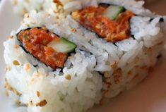 Spicy tuna rolls is the ideal introduction to Japanese sushi.