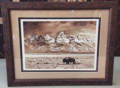 Custom framed photograph with two acid-free mats in Fotiou Frames! #art #pictureframing #customframing #denver #colorado #lodo