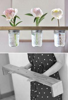 DIY Friday! 10 Wedding Worthy Ways With Glass Jars