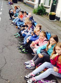 Gisteren is voor veel mini Utrechters eindelijk de laatste schooldag aangebroken, de afgelopen week vierden we dat vaak door voor onze normale openingstijden speciaal voor een klas open te gaan. Gisteren was dat voor de klas van de 'Mees Kees' van de Beiaard #feest #vrijmibo #ijs #gelato #vakantie