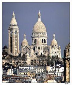 Le Sacré Coeur, Paris, France Copyright: Cedric Devarenne
