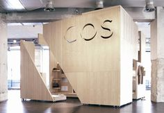 COS cube installation: Fuorisalone, Milan by Gary Card