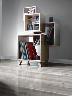 Birch Plywood Shelf Unit By David Fusco