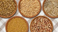 Grain analysis refers to monitoring the quality of food grains by analyzing the samples of grains for pesticide residue, mycotoxin contamination, and its physical characteristics namely weight and size. Grain Foods, Superfood, Quinoa, Dog Food Recipes, Grains, Clean Eating, Paleo, Cleaning, Vegetables
