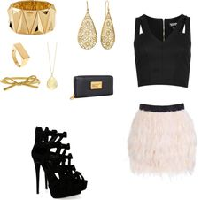"""Golden"" by kaiamat on Polyvore"