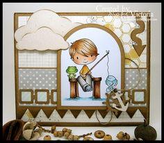 Vixx Handmade Cards: Digistamp Boutique