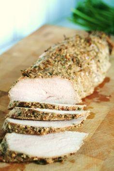 Herb Dijon Crusted Pork Tenderloin | Tasty Kitchen: A Happy Recipe Community! (This is very good!)