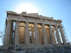 Head to the Parthenon. It's a must see while in Athens! #Greece #wanderlust #LoveisaJourney