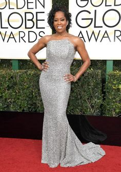 The official kickoff of the 2017 awards season began last night with the Golden Globes! As always, we scouted the red carpet and found the most gorgeous and modest outfits. This was a great year for conservative fashion! Sparkle, shine, bold colors, and texture were everywhere. Here is the roundup of our favorites.