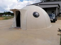 Composite Fiberglass Dome Schools, Avionics, Prefabricated dome housing, Classrooms Building, Memphis TN USA