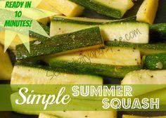Simple Summer Squash «