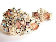 MADE TO ORDER  Bridal cuff and matching bridesmaids by OOAKjewelz, €287.95