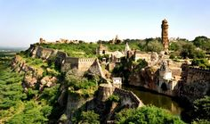 Most beautiful places in the world: Chittorgarh Fort Landscape, India