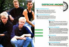 Lansure's Music Paraphernalia: DEPECHE MODE | DAVE GAHAN | MARTIN L. GORE | Press Kits | Memorabilia