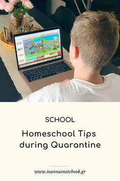 10 συμβουλές για την εξ' αποστάσεως εκπαίδευση - Ioanna's Notebook Helpful Hints, Homeschool, Greek, Notebook, Parenting, Posts, Tips, Blog, Useful Tips