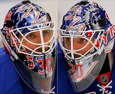 Henrick Lundqvist's mask,