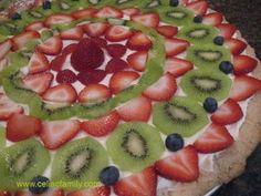 Easy Gluten-Free Fruit Pizza