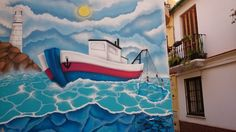 'Just arrived' travel anxieties… Malaga Spain, Woke Up This Morning, Street Art, Fair Grounds, Travel, Viajes, Destinations, Traveling, Trips