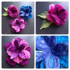 Tovade blommor med flera lager kronblad | Min kreativa sida