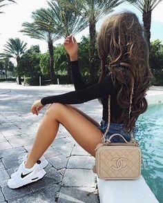 Summer chic.