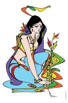 Indian Artwork, Indian Folk Art, Indian Art Paintings, Indian Artist, Madhubani Art, Madhubani Painting, Composition Painting, Indian Illustration, Canvas Painting Tutorials