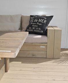 HEGEMOR.COM: Hvordan bygge utemøbler - del 1 Paris, Diy Interior, Outdoor Furniture, Outdoor Decor, Entryway Bench, Provence, Sofa, Home Decor, Outdoors