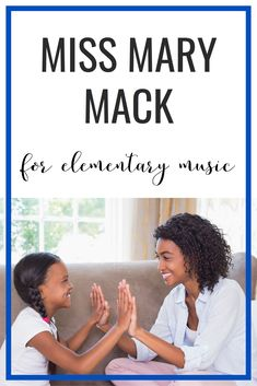 Tons of tips for how to sequence the Miss Mary Mack clapping game in elementary music. It\'s a great game for partners, teaching steady beat or tempo, and crossing the midline. Music Games, Singing Games, Singing Lessons, Music Lessons, Singing Tips, Music Mix, Kids Music, Kids Songs, Miss Mary Mack