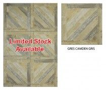 (D) GRES CAMDEN GRIS 45*45CM (1.42SQM/BOX) GC- While stocks last (June 2015)