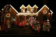 christmas lights The Best 40 Outdoor Christmas Lighting Ideas That Will Leave You Breathless - Architecture Art Designs