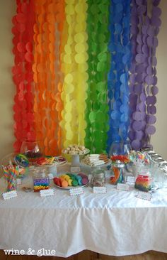 Wine and Glue: Rainbow Party Extravaganza!