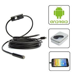 Strong-Willed 6 Leds 5.5mm Ip66 Waterproof Inspection Borescope Snake Tube Camera Usb Endoscope Mini Video Camera For Android Phone Pc Os Mac Computer Cables & Connectors