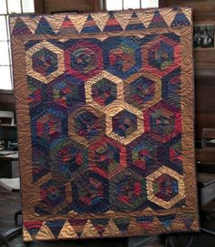 Hey, I found this really awesome Etsy listing at https://www.etsy.com/listing/209171404/primitive-folk-art-quilt-pattern-school