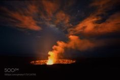"""Extreme Exposure  I know I know.  I'm breaking my """"I post a shot every 6 months"""" rule.  But in this case it's for a VERY good cause.  Getting BEYOND excited to head over to the Big Island of Hawaii and help lead an Extreme Exposure Workshop with Bruce Omori Tom Kuali'i and Ryan Dyar from October 20th-October 25th.    Posting this shot as the news from the island is that Halemaumau is getting really active and the lava lake could very easily be visible from the Jagger Visitor's Center soon…"""