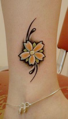 #flower #tattoo #flower #tattoo #flower #tattoo