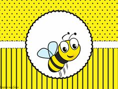 Inspire sua Festa ® | Blog Festa e Maternidade Spelling Bee, Volunteer Appreciation, Classroom Design, Queen Bees, Cute Pattern, Baby Month By Month, Insects, Symbols, Cards