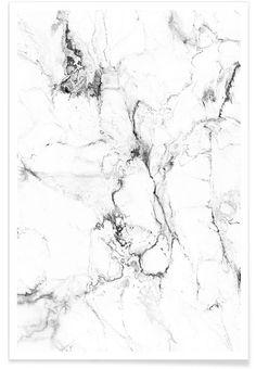 Marmor als Premium poster door Amy & Kurt | JUNIQE