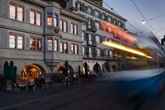 Zurich, Town Scene Street View, Scene, Stage