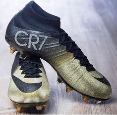 Cr7 new gold/black mercurial 2015