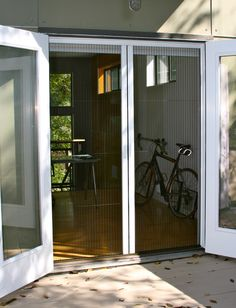 The Custom Retractable Screen Doors By Screen Solutions Of Austin, TX Can  Easily Be Incorporated