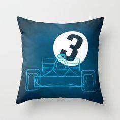 Tyrrel3 Throw Pillow by Mauricio Gottsfritz - $20.00