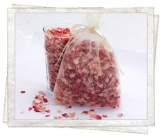 Mix Pale Pink and Raspberry for a textured pink mix - £11 a pint. http://www.confettidirect.co.uk/delphiniums.html