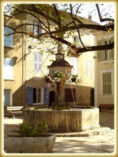 fontaine de Varages, Provence