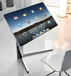 Table and a computer concept [ CaptainMarketing.com ] #technology #online #marketing | Repinned by @keilonegordon