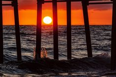 Waves Crash at Oceanside Pier at Sunset - Oceanside    May 25, 2016             ©2016 Rich Cruse \ CrusePhoto.com Oceanside Pier, New Adventures, Home And Away, Adventure Awaits, Summer Vibes, Mother Nature, Sunsets, San Diego, Waves