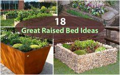 18 Great Raised Bed Ideas | Raised Bed Gardening | Balcony Garden Web