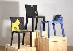 Rememberme Chairs Made From Recycled Clothes are Really Stylin'! | Inhabitat - Sustainable Design Innovation, Eco Architecture, Green Building